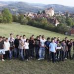 les élèves de 3èDP et Curemonte