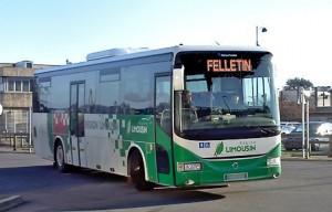 LMB bus région Limousin