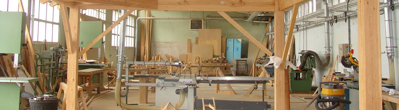 LMB - Felletin, Atelier charpente