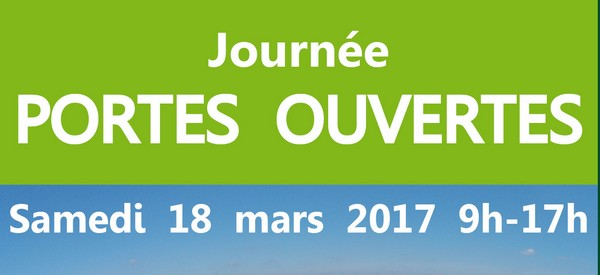 journée portes ouvertes : c'est le 18 mars !