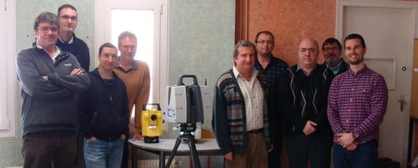 Deux journées techniques au LMB vendredi:  Présentation de solutions de relevé et Scanner 3D et  Formation sur une machine polyvalente enduits traditionnels chaux- sable et isolation chaux-chanvre