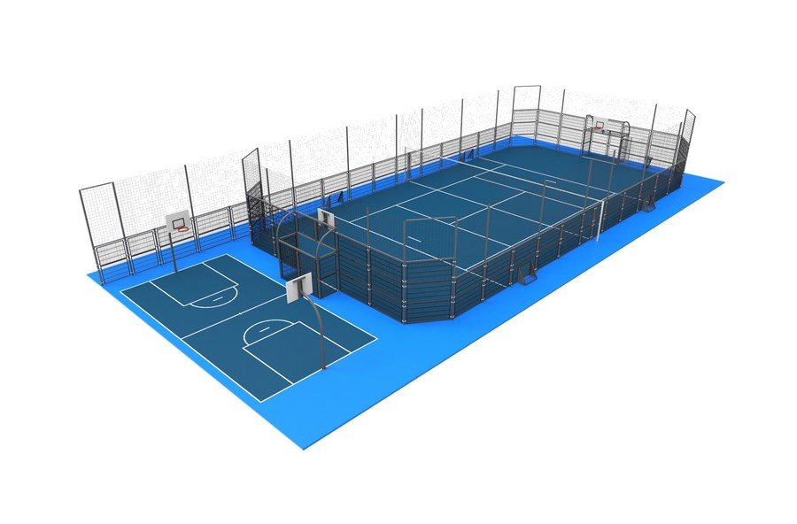 Projet de r novation du terrain de tennis du lmb felletin for Taille d un terrain de tennis