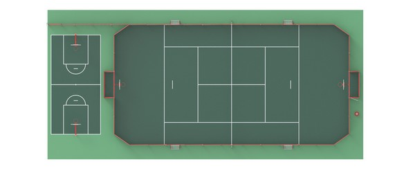 Projet de rénovation du terrain de tennis du LMB Felletin