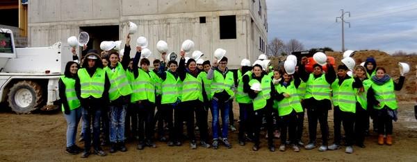 Visite de chantier et d'entreprise pour les Bacs pros