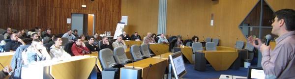 Journée technique pour les étudiants de BTS Systèmes constructifs bois et habitat