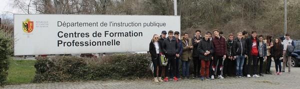 Voyage en Suisse pour les lycéens du LMB de Felletin