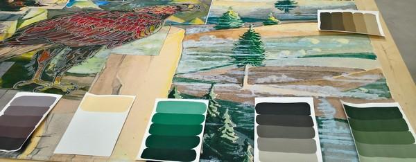 Découverte de la cité de la tapisserie pour les élèves de mention complémentaire peinture décoration