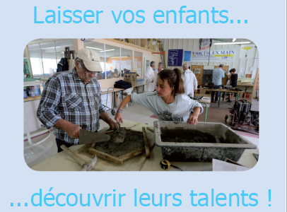 Démarrage de l'activité «découvertes des métiers» pour les ados de Creuse, avec l'outil en main