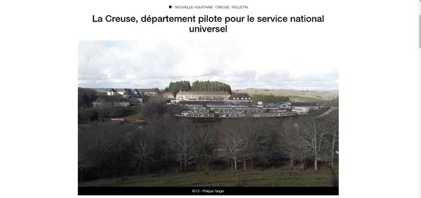 Reportage de France 3 sur le LMB pour le SNU