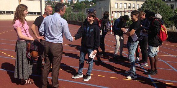 Festival des nuits noires à Aubusson : participation des élèves de 3ème prépa pro