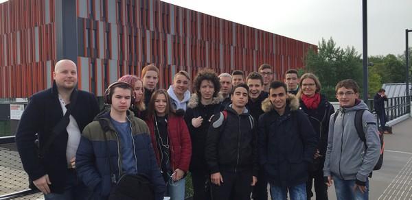 Un voyage d'exception pour les menuisiers du LMB de Felletin