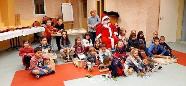 Noël des enfants du personnel : joie et convivialité au programme