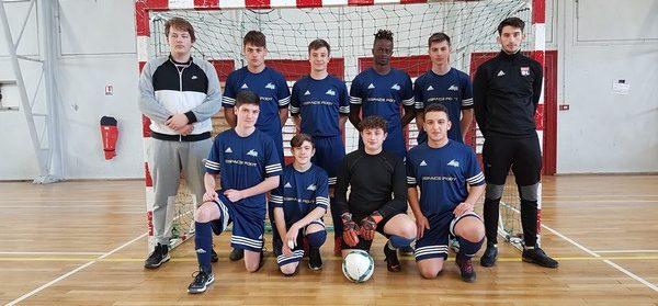 Nos élèves sont champions départementaux en Futsal !!!!