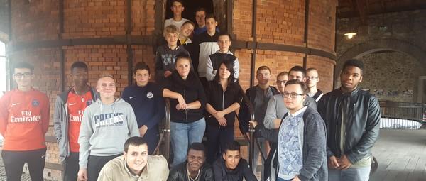 L'histoire en version concrète pour les élèves du LMB en visite à Limoges